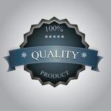 Escritura de la etiqueta de la calidad Imagen de archivo