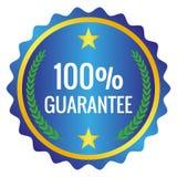 Escritura de la etiqueta de la garantía Imagen de archivo libre de regalías