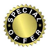 Escritura de la etiqueta de la oferta especial Imagen de archivo libre de regalías