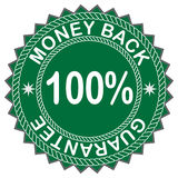Escritura de la etiqueta de la parte posterior del dinero Foto de archivo libre de regalías