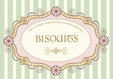 Escritura de la etiqueta de la vendimia Imagen de archivo libre de regalías