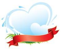 Escritura de la etiqueta de los productos lácteos Foto de archivo libre de regalías