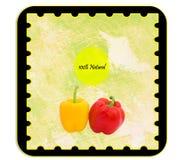 Escritura de la etiqueta de Personalizable Fotos de archivo