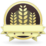 Escritura de la etiqueta del alimento para los productos enteros del grano libre illustration