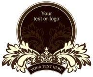 Escritura de la etiqueta del vector Fotos de archivo libres de regalías