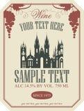 Escritura de la etiqueta del vino
