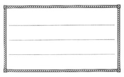 Escritura de la etiqueta en blanco 3 Fotografía de archivo