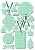 Escritura de la etiqueta en estilo de la vendimia. Fotos de archivo libres de regalías
