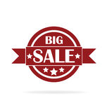 Escritura de la etiqueta grande de la venta Imagen de archivo libre de regalías