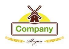 Escritura de la etiqueta para los productos de la compañía agro-basada