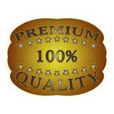 Escritura de la etiqueta superior de la calidad Foto de archivo libre de regalías
