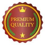 Escritura de la etiqueta superior de la calidad Imagenes de archivo
