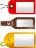 Escritura de la etiqueta y etiqueta Foto de archivo libre de regalías