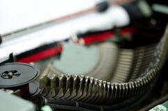 Escritura de la máquina de escribir Foto de archivo