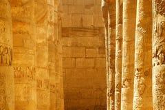 Escritura egipcia antigua Foto de archivo libre de regalías