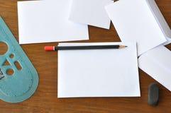 Escritura letras Imagenes de archivo