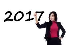Escritura número 2017 de la empresaria Imagen de archivo