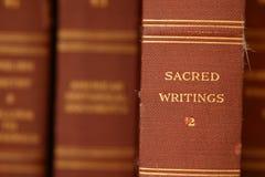 Escrituras sagradas Fotografía de archivo libre de regalías