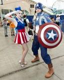 Escroquerie comique 2011 de San Diego Images libres de droits