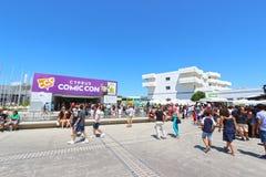 Escroquerie comique 2015 de la Chypre photo stock