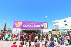 Escroquerie comique 2015 de la Chypre photos libres de droits