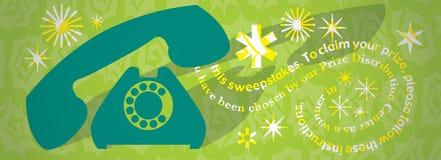 Escroquerie de téléphone Image libre de droits