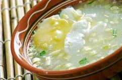 Escroquerie Huevo de Changua Images libres de droits