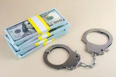 Escroqueries financi?res d'honoraires ? l'avance de crime photographie stock