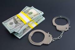 Escroqueries financi?res de transfert de fonds de fraude de carte de crime photographie stock