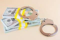 Escroqueries financi?res d'honoraires ? l'avance de crime photo stock