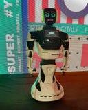 Escu intelligent robotinBrasov län arkivfoto