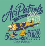Escuadrilla de las patrullas aéreas Fotografía de archivo