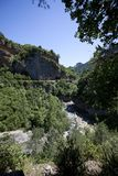 Escuain Canyon Spanish Pyrenees Royalty Free Stock Image