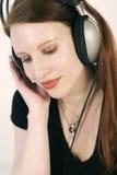 Escuche la música Foto de archivo libre de regalías