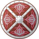 Escudo céltico adornado Imagenes de archivo