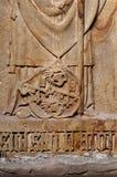 Escudo de armas antiguo de Bremen Fotografía de archivo