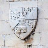 Escudo de armas Cambridge Inglaterra Foto de archivo