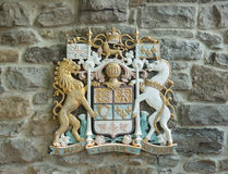 Escudo de armas canadiense Fotos de archivo libres de regalías