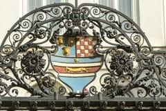 Escudo de armas croata Fotos de archivo libres de regalías