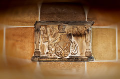 Escudo de armas de Bremen Foto de archivo libre de regalías
