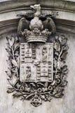 Escudo de armas de Oporto Fotografía de archivo libre de regalías