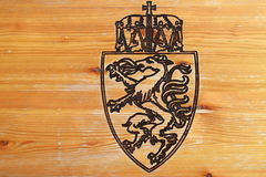 Escudo de armas de Reiteralm Fotos de archivo libres de regalías