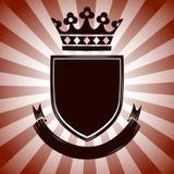 Escudo de armas del vintage Fotos de archivo