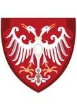 Escudo de armas en Sheld fotografía de archivo libre de regalías