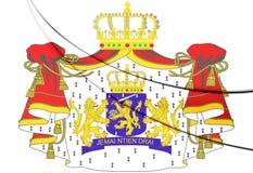 Escudo de armas holandés Fotos de archivo libres de regalías