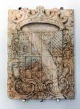 Escudo de armas de las cuentas de Lousa Fotografía de archivo libre de regalías