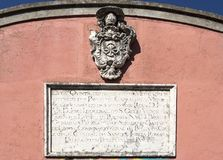 Escudo de armas de Oeiras Imagenes de archivo