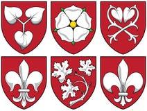 Escudo de armas - plantas Imagen de archivo libre de regalías
