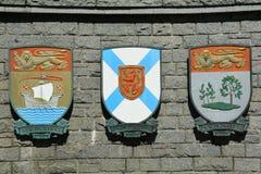 Escudo de armas provincial Imagen de archivo libre de regalías