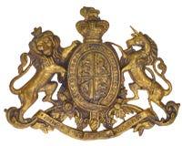 Escudo de armas real Imagen de archivo libre de regalías